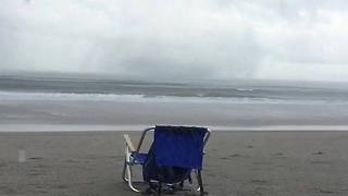 Waterspout Causes Minor Damage Off Surf City Coast - Video