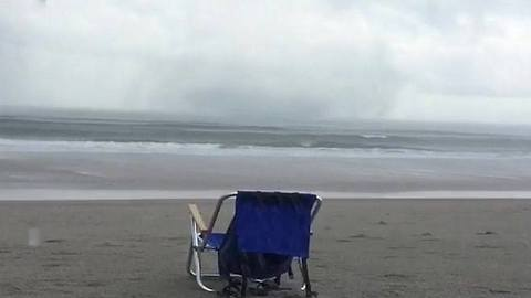 Waterspout Causes Minor Damage Off Surf City Coast