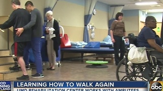 UMD 'walking school' helps amputees learn to walk again - Video