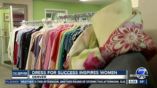 Dress for Success inspires at-risk women to reach their full potential - Video