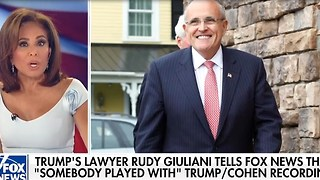 Rudy Giuliani: Experts say leaked Trump-Cohen tape was doctored - Video