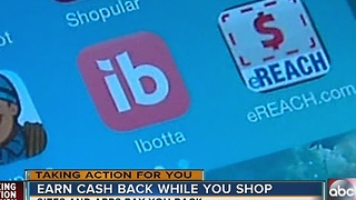 Earn cash back while you shop - Video