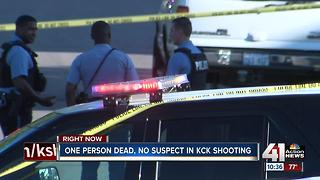 Man found shot to death on KCK street - Video