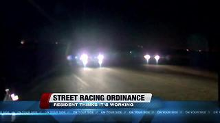 East Side resident says street racing ordinance is working - Video