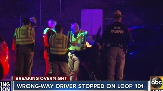 DPS: Wrong-way driver stopped after 9 miles on L-101