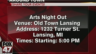 Around Town 1/5/17: Arts Night Out in Lansing - Video