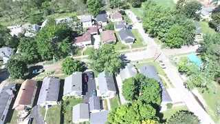 Drone Video Shows Damage From Kokomo Tornado - Video