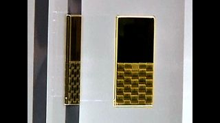 Solid Gold Cell Phone - Video