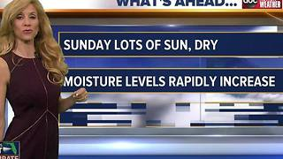 Debra's Sunday Morning Forecast