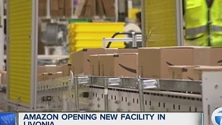 Amazon opening distribution center in Livonia - Video