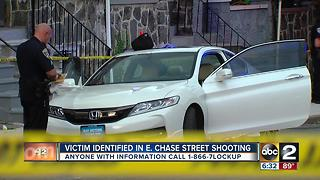 Police investigate man found shot inside car in east Baltimore Saturday