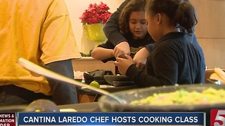 Schools Get Cooking Class As Special Treat - Video