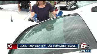 State troopers' new tool for water rescue - Video