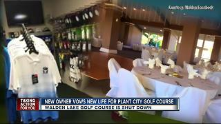 New owner vows new life for Plant City Golf Course - Video