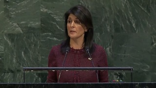 U.S. Ambassador Haley SLAMS U.N. Vote - We Will Remember This Day - Video