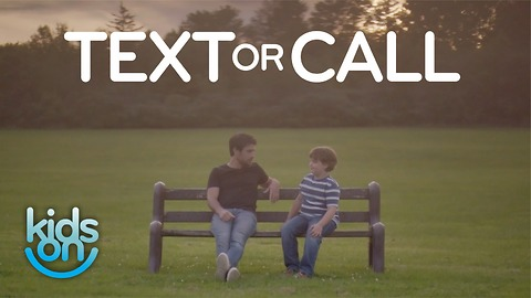 Advice from kids: Text or call when you get a number?