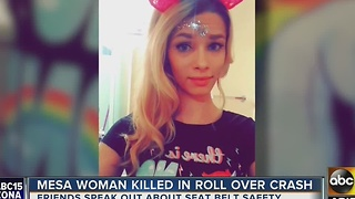 Friends remember Mesa woman killed in crash - Video
