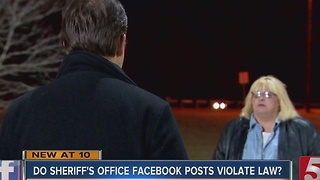 Do Sheriff's Office Posts Break Medical Records Privacy Laws? - Video