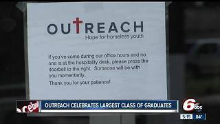 Outreach celebrates largest class of graduates - Video