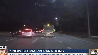 Maryland prepares for first blast of winter weather - Video