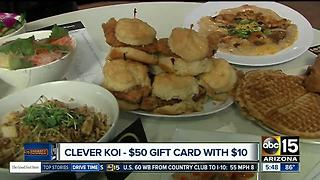 Great gift card deal for downtown Gilbert restaurants - Video