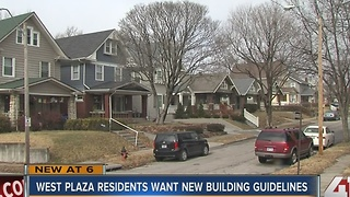 West Plaza residents want new building guidelines - Video