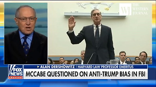 'They Have Him Where They Want Him': Dershowitz Says Mueller Should Stay - Video
