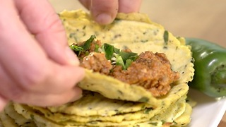 Cauliflower Tortillas - Video