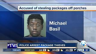 2 arrested in Boynton Beach UPS thefts