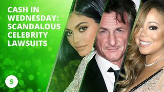 Cash in Wednesday: Scandalous celebrity lawsuits - Video