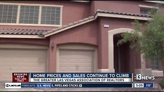 Las Vegas home prices are rising - Video