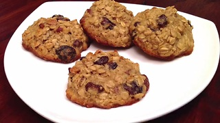 How to quickly make oatmeal cookies - Video