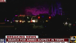 Man killed in Tempe, police searching for shooter - Video