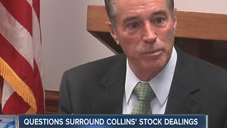 Questions surround Chris Collins' stock trading - Video