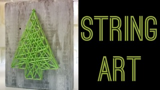 String art pine  - Video