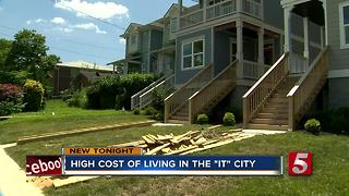 Cost Of Living Rising In Nashville, Study Says - Video