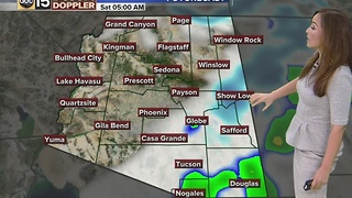 Rain chances continue for morning commute - Friday, December 16, 2016 - Video