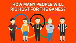 Rio 2016: How many people will Rio host for the Games? - Video