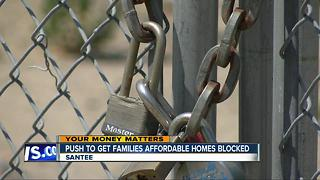 San Diego County debt could halt affordable housing idea - Video