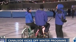 Canalside kicks off winter programs - Video