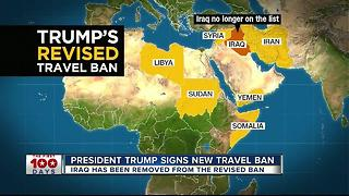 President Trump signs new travel ban - Video