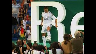 Cristiano Ronaldo skills spark a riot at Real Madrid - Video