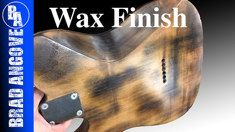 Applying/Updating a Wax Finish