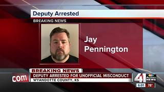 Wyandotte County deputy arrested, fired in connection to forgery and theft case - Video