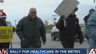 Rally for healthcare in the metro - Video