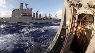 Life Aboard a US Navy Ship - Video