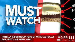 Nutella Is Furious Photo Of What Actually Goes Into Jar Went Viral - Video