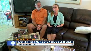 Mother of overdose victim preaches anti-drug message to teens - Video