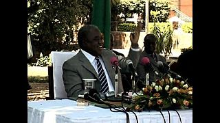 Monkey Pees On President Of Zambia - Video