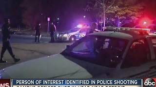 Person of interest dentified in Detroit police shooting